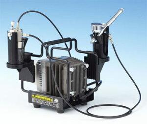 PS321 リニアコンプレッサーL5/エアーブラシ・レギュレーターセット(再販)[GSIクレオス]【送料無料】《発売済・在庫品》