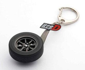 """トヨタ スプリンター トレノ (AE86) 新劇場版 『頭文字D Legend1 -覚醒-』・ホイールキーチェーン(Toyota Sprinter Trueno (AE86) New Movie """"Initial D Legend 1 -Kakusei-"""" Wheel Keychain(Released))"""