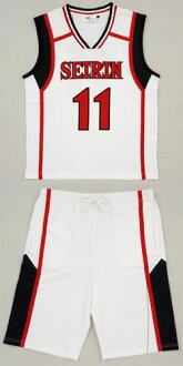 Kuroko's Basketball - Uniform-style Room Wear Tetsuya Kuroko / S(Released)(黒子のバスケ ユニフォーム風ルームウェア 黒子テツヤ-S)