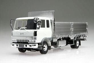 1/32 はたらくトラックシリーズ No.9 日野レンジャー 4D シャッターグリル 造り平ボディ仕様 プラモデル(1/32 Hataraku Truck Series No.9 Hino Ranger 4D Shutter Grill Flat Body Style  Plastic Model(Back-order))