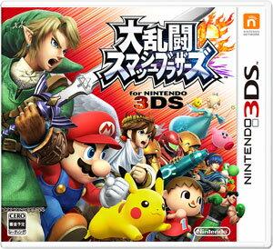 3DS大乱闘スマッシュブラザーズforニンテンドー3DS[任天堂]《09月予約》