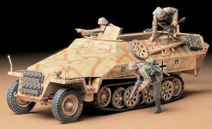 1/35 ミリタリーミニチュアシリーズ No.195 ドイツ ハノマーク装甲兵員輸送車D型 プラモデル[タミヤ]《取り寄せ※暫定》