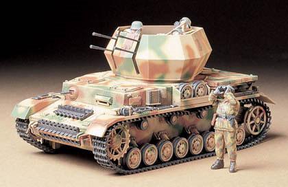 1/35 ミリタリーミニチュアシリーズ No.233 ドイツ IV号対空戦車 ヴィルベルヴィント99 プラモデル[タミヤ]《取り寄せ※暫定》