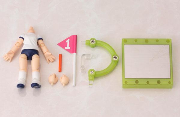 キューポッシュえくすとら 半袖体操服ボディ 可動フィギュア(再販)[コトブキヤ]《発売済・在庫品》