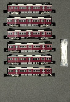 "4081 Hankyu Series 8300 ""Kyoto Line"" 3rd Batch Crossing Panto Car 6Car Train Set (w/Power Unit)(Released)(4081 阪急8300系「京都線」3次車 交差パンタ車6輌編成セット(動力付き))"