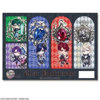 Jewelic Nightmare - Clear Bookmark