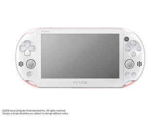 PS Vita Console Wi-Fi Model - Light Pink/White(Released)(PS Vita 本体 Wi-Fiモデル ライトピンク/ホワイト)