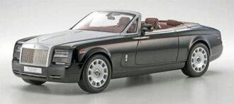 京商オリジナル 1/12 ロールス・ロイス ファントム ドロップヘッド クーペ(ダイヤモンドブラック)(Kyosho Original 1/12 Rolls-Royce Phantom Drophead Coupe (Diamond Black)(Released))