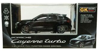 1/24 27MHz RC Car No.3 Porsche Cayenne Turbo Black(Back-order)(1/24 27MHz RCカー No.3 ポルシェ カイエン ターボ Black)