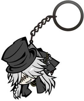 黒執事Book of Circus 葬儀屋つままれキーホルダー(Black Butler: Book of Circus - Pinched Keychain: Undertaker(Released))