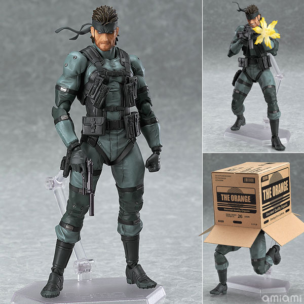 figma METAL GEAR SOLID2: SONS OF LIBERTY ソリッド・スネーク MGS2 ver.(再販)[マックスファクトリー]《発売済・在庫品》
