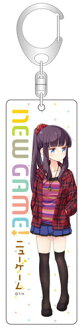 NEW GAME! - Stick Acrylic Keychain: Hifumi Takimoto(Back-order)(NEW GAME! スティックアクリルキーホルダー 滝本ひふみ)