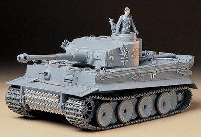 1/35 ミリタリーミニチュアシリーズ No.216 ドイツ重戦車 タイガーI 初期生産型 プラモデル[タミヤ]《取り寄せ※暫定》