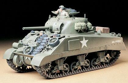 1/35 ミリタリーミニチュアシリーズ No.190 アメリカ M4シャーマン戦車 (初期型) プラモデル[タミヤ]《取り寄せ※暫定》
