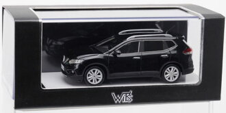 WIT'S 1/43 X-TRAIL 20X Diamond Black(Back-order)
