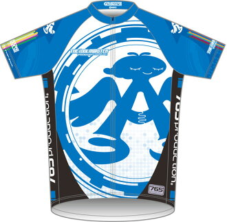 THE IDOLM@STER - 765 Production Cycling Jersey (Chihaya Color) Short Sleeve