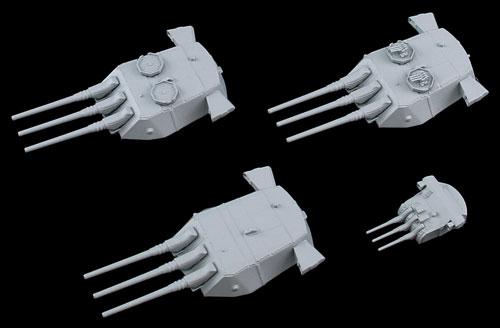 1/700 ネオ イクイップメントシリーズ 新 WWII 日本海軍艦船装備セット(8) プラモデル[ピットロード]《取り寄せ※暫定》
