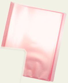 クリアファイル収納ホルダー クリアピンク[コアデ]《発売済・在庫品》