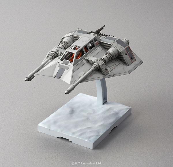 スターウォーズ 1/48 スノースピーダー プラモデル(再販)[バンダイ]《取り寄せ※暫定》