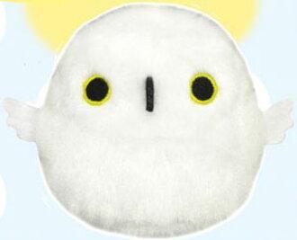 とりだんご シロフクロウ ぬいぐるみ(Tori Dango - Snowy Owl Plush(Back-order))