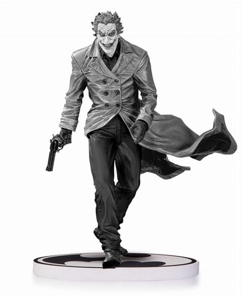 バットマン/ ジョーカー ブラック&ホワイト スタチュー: リー・ベルメホ 2nd エディション[DCコレクティブル]《取り寄せ※暫定》