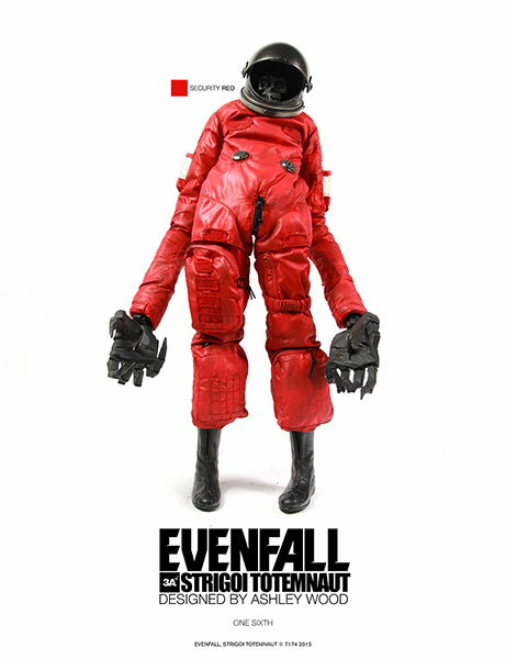 EVENFALL STRIGOI TOTEMNAUT ? SECURITY RED 1/6 可動フィギュア[スリー・エー]《取り寄せ※暫定》