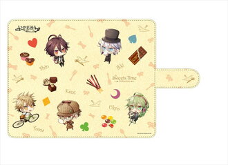 Sweets Time Collection - AMNESIA Book-style Smartphone Case (M Size)(Back-order)(スイーツタイムコレクション AMNESIA 手帳型スマホケース(Mサイズ))