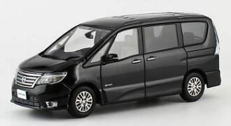 京商オリジナル 1/43 NISSAN SERENA Highway STAR G 2014(ダイヤモンドブラック)(Kyosho Original 1/43 NISSAN SERENA Highway STAR G 2014 (Diamond Black)(Back-order))