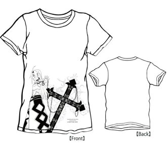 LIVERTINEAGE x SWORD ART ONLINE II Collaboration T-shirt Type ROSARIO  [Chara-ani Limited Distribution Design] / WHITE - XS(Released)(LIVERTINEAGE×SWORD  ART ...