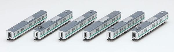 92572 JR E233 2000系通勤電車増結セット(6両)(再販)[TOMIX]《08月予約》