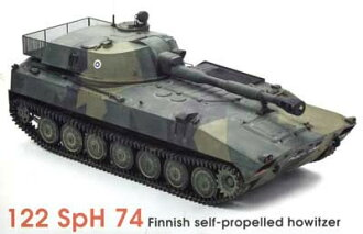 1/35 Finland 122mmSpH74 Self-propelled Howitzer Plastic Model(Released)(1/35 フィンランド122mmSpH74自走榴弾砲 プラモデル)