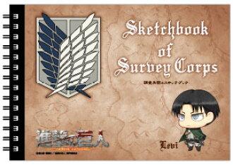 Attack on Titan - Survey Corps Sketchbook: Levi(Back-order)(進撃の巨人 調査兵団のスケッチブック/リヴァイ)