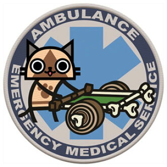 Monster Hunter - PATCH: Felyne AMBULANCE (Reflector Type)(Back-order)(モンスターハンター PATCH アイルー AMBULANCE(リフレクタータイプ))