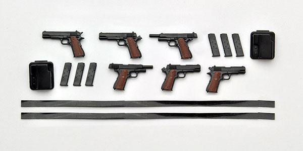 リトルアーモリー LA015 1/12 M1911A1&コマンダータイプ プラモデル(再販)[トミーテック]《発売済・在庫品》