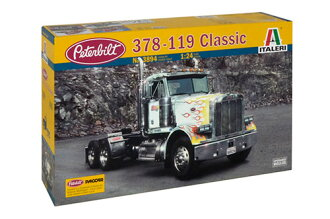 1/24 トラック&トレーラー CLASSIC PETERBILT 378-119 プラモデル(1/24 Truck & Trailer CLASSIC PETERBILT 378-119 Plastic Model(Released))