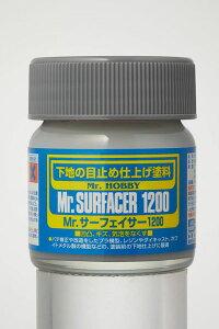 Mr.サーフェイサー1200(瓶)[GSIクレオス]《発売済・在庫品》