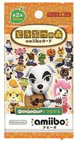 どうぶつの森amiiboカード 第2弾 パック(再販)[任天堂]《発売済・在庫品》