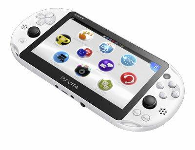 PlayStation Vita Wi-Fiモデル グレイシャー・ホワイト[SCE]【送料無料】《発売済・在庫品》