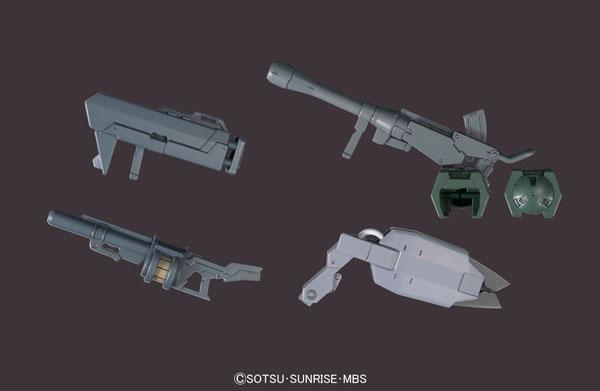 HG 機動戦士ガンダム 鉄血のオルフェンズ 1/144 MSオプションセット2 & CGSモビルワーカー(宇宙用) プラモデル(再販)[バンダイ]《取り寄せ※暫定》