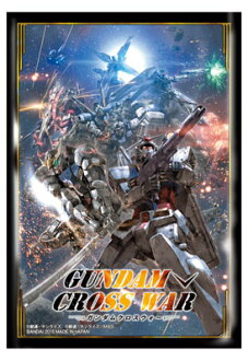 GUNDAM CROSS WAR - Official Sleeve [GCW-S01] Pack(Back-order)(GUNDAM CROSS WAR オフィシャルスリーブ 【GCW-S01】 パック)