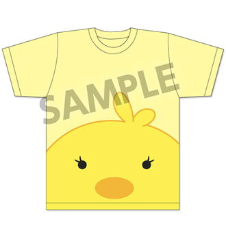 Senki Zessho Symphogear GX - Hibiki's Hiyoko T-shirt XL Size(Back-order)(戦姫絶唱シンフォギアGX 響のヒヨコTシャツ XLサイズ)