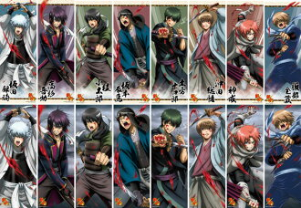 Gintama Season 3 - Chara Pos Collection Vol.14 8Pack BOX(Released)(銀魂゜ キャラポスコレクション第14弾 8個入りBOX)
