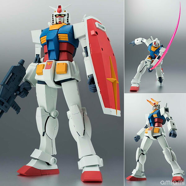 ROBOT魂 〈SIDE MS〉 RX-78-2 ガンダム ver. A.N.I.M.E. 『機動戦士ガンダム』(再販)[バンダイ]《取り寄せ※暫定》