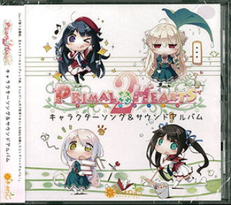 "CD 『PRIMAL×HEARTS 2』キャラクターソング&サウンドアルバム / Ceui、霜月はるか、茶太 他(CD ""PRIMAL x HEARTS 2"" Character Song & Sound Album / Ceui' Haruka Shimotsuki' Chata' Other(Back-order))"