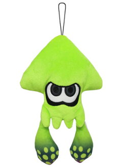 Splatoon ALL STAR COLLECTION Plush - Squid Lime Green (S)(Released)(スプラトゥーン ALL STAR COLLECTION ぬいぐるみ イカ ライムグリーン(S))