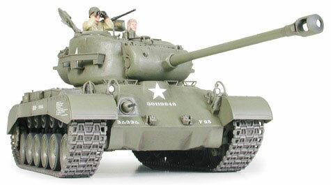 1/35 ミリタリーミニチュアシリーズ No.254 アメリカ戦車 M26 パーシング プラモデル(再販)[タミヤ]《取り寄せ※暫定》