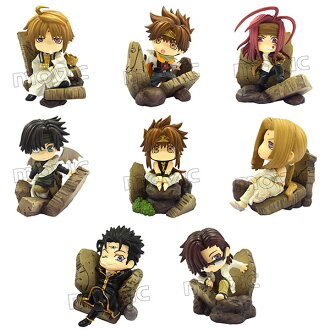 Color-Cole DX - Saiyuki Series 8Pack BOX(Released)(カラコレDX 最遊記シリーズ 8個入りBOX)