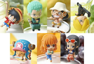 Ochatomo Series - ONE PIECE Kaizoku-tachi no Tea Time 8Pack BOX(Released)(お茶友シリーズ ONE PIECE 海賊たちのティータイム 8個入りBOX)