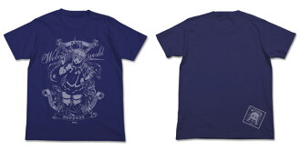 KonoSuba - Goddess of Water' Aqua T-shirt / NIGHT BLUE - L(Released)(この素晴らしい世界に祝福を! 水の女神アクアTシャツ/ナイトブルー-L)