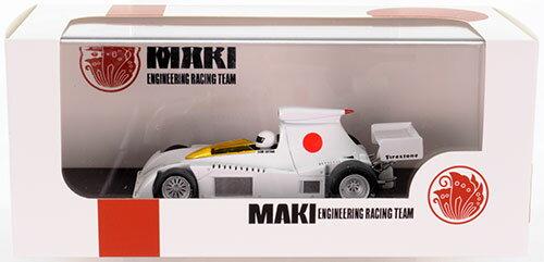 1/43 MAKI F101 テストカー 速水翔(新井鐘哲)(フィギュアあり)[プレミアムX]《取り寄せ※暫定》